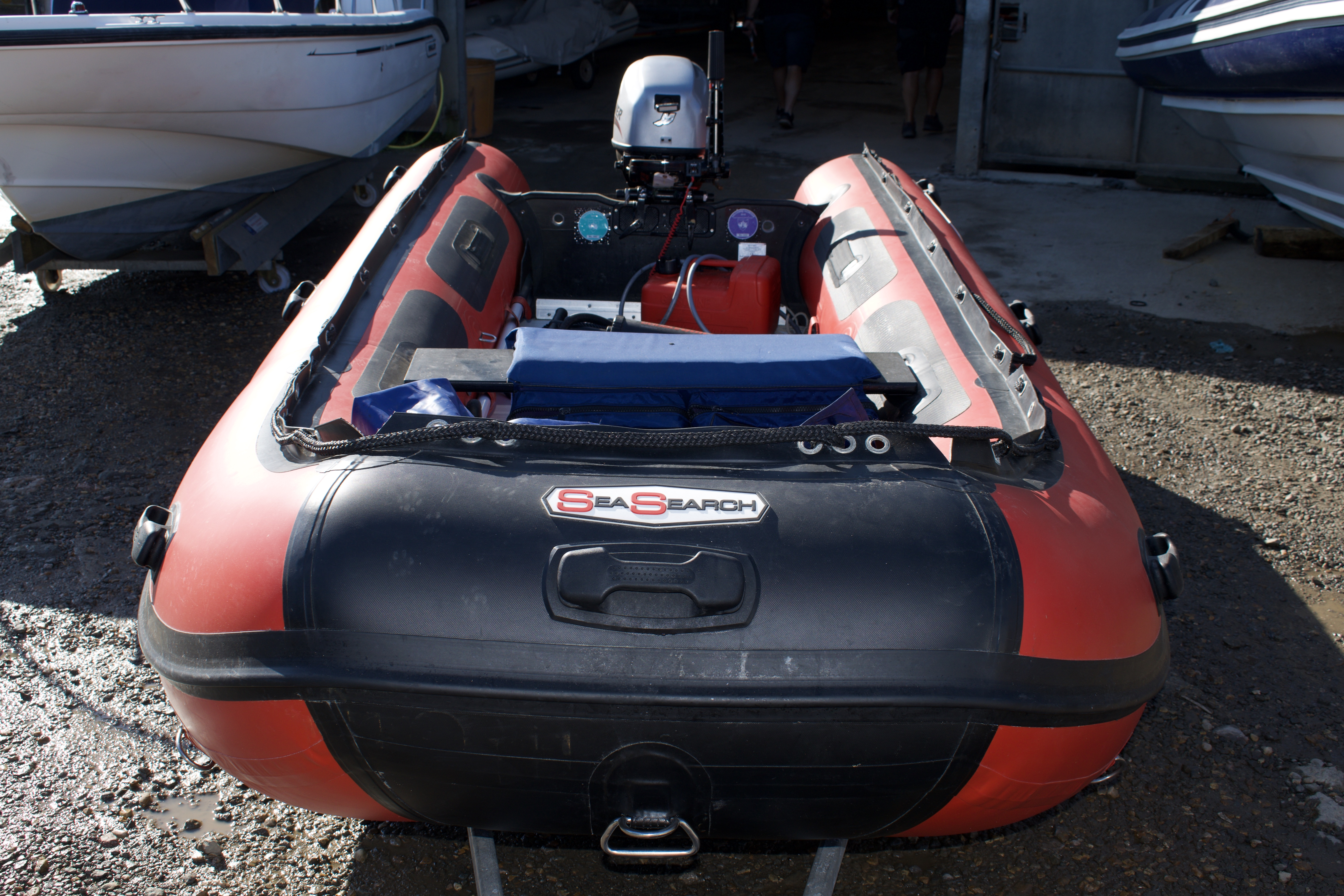 Used Sea Search Inflatables 390 For Sale on craigslist